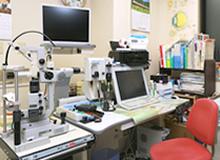 細隙灯顕微鏡およびDVD VIDEO装置、モニター